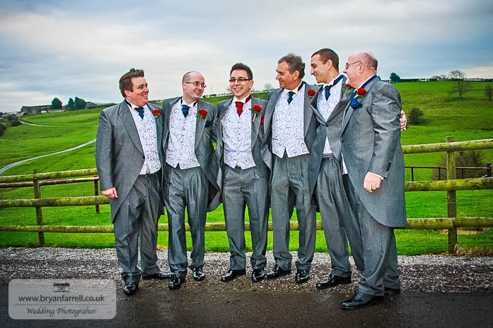 Kingscote Barn Wedding 49