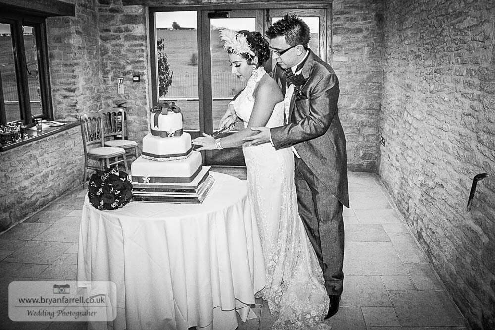 Kingscote Barn Wedding 59