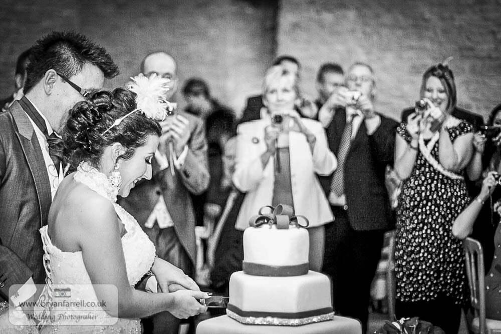 Kingscote Barn Wedding 60