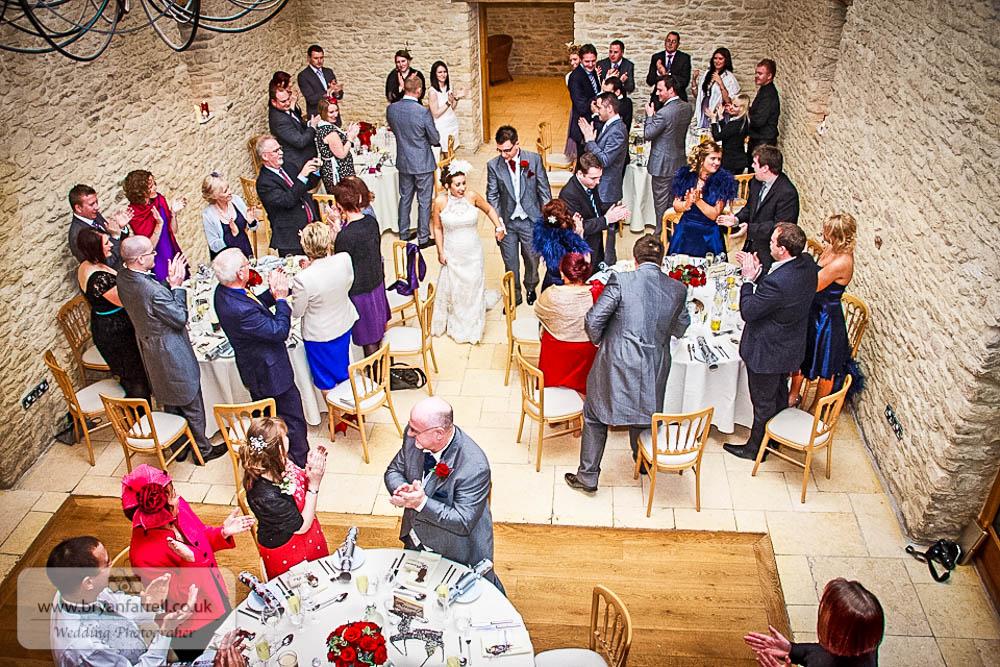 Kingscote Barn Wedding 63