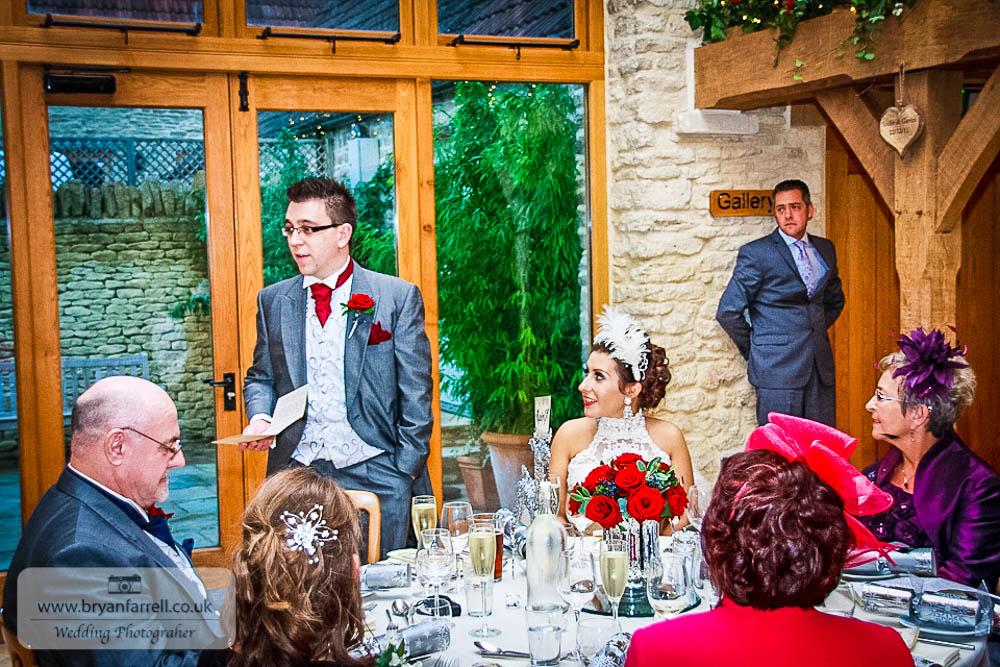 Kingscote Barn Wedding 64