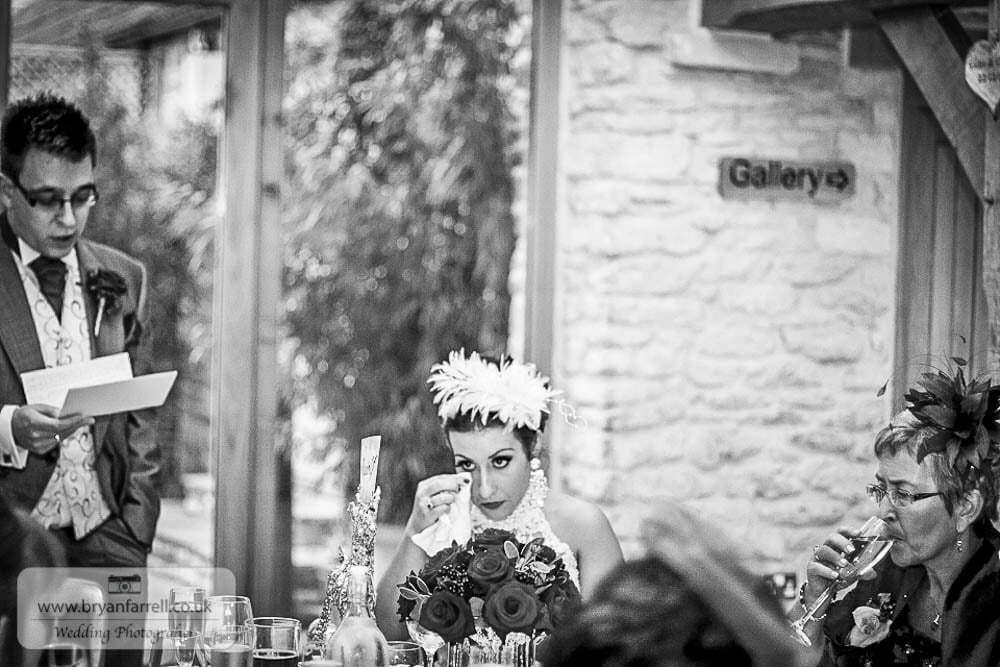 Kingscote Barn Wedding 65