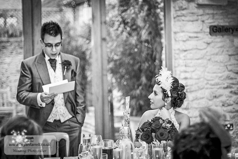 Kingscote Barn Wedding 66