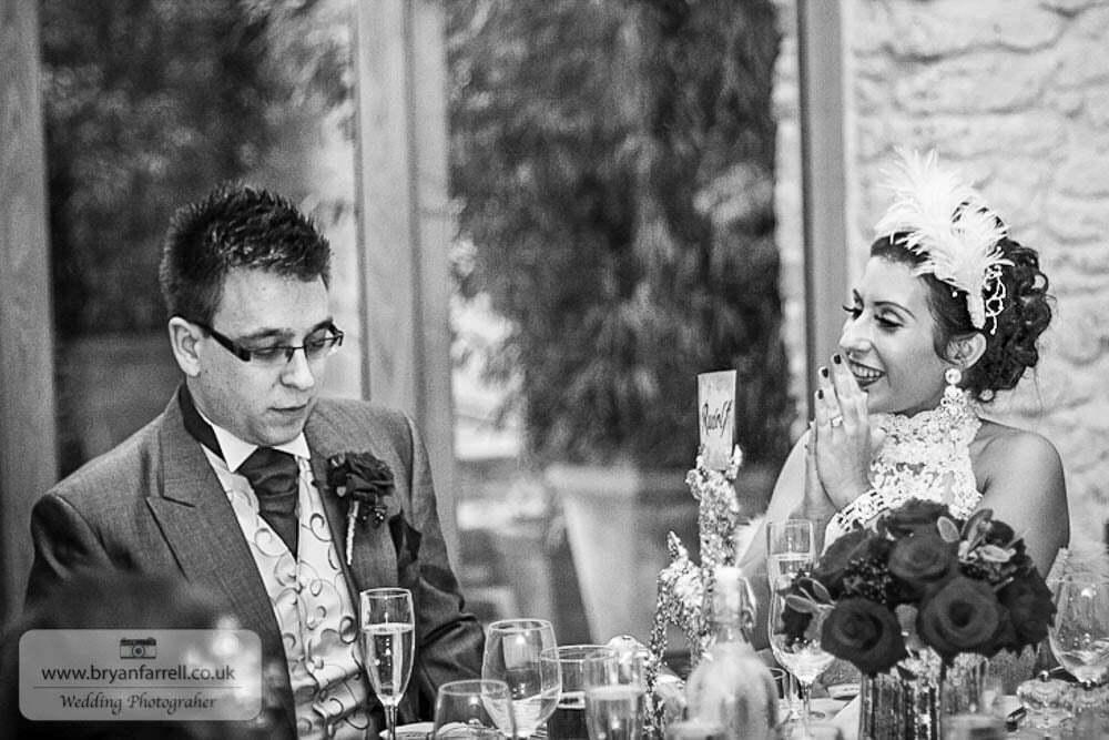 Kingscote Barn Wedding 67