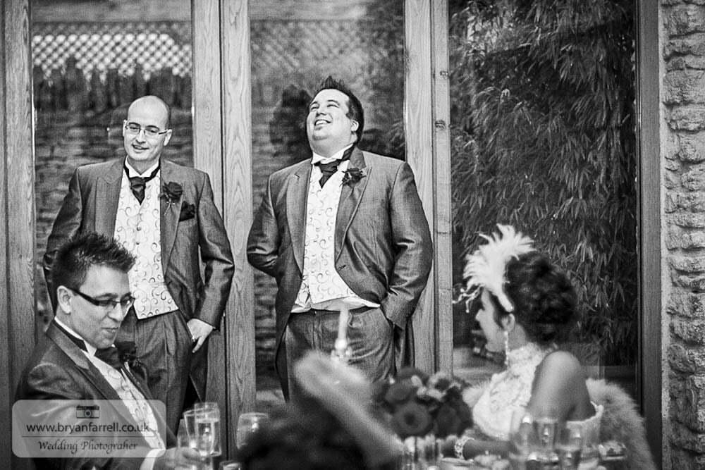 Kingscote Barn Wedding 68
