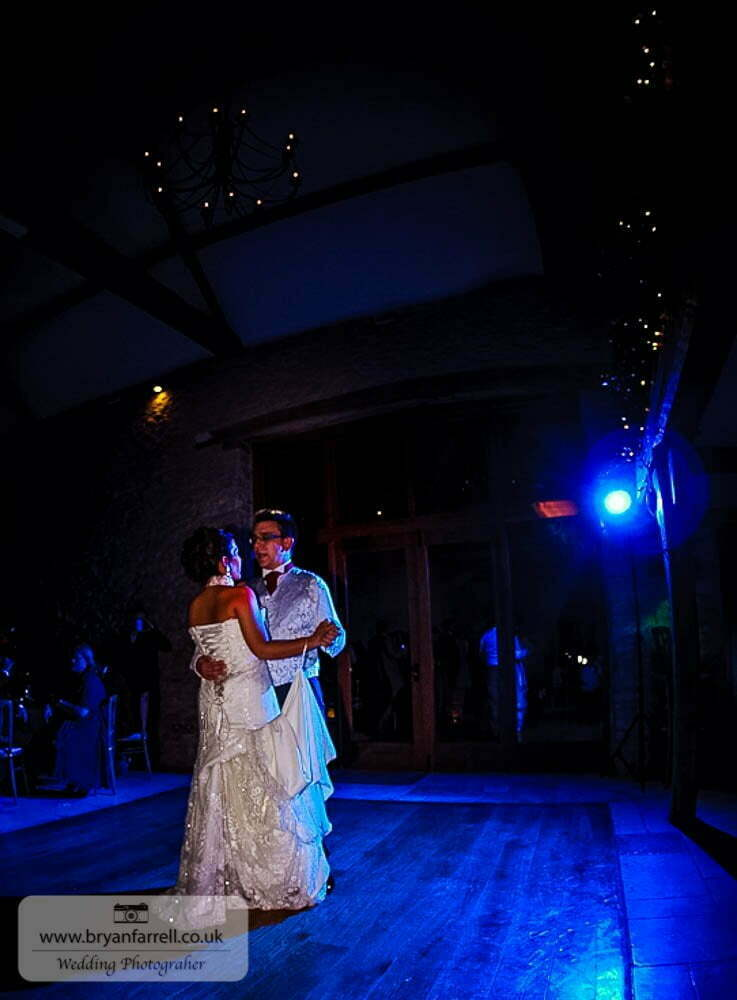 Kingscote Barn Wedding 73