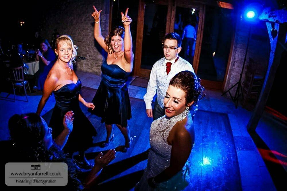 Kingscote Barn Wedding 77