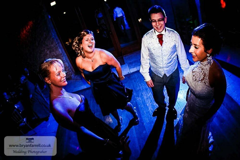 Kingscote Barn Wedding 78