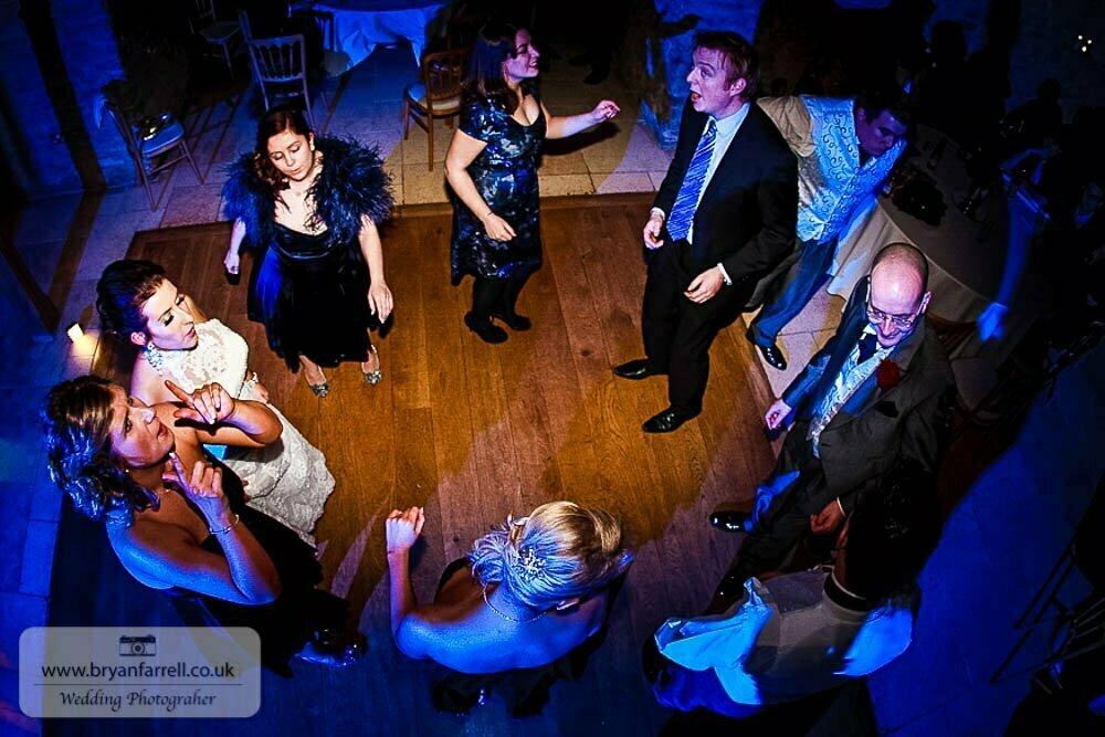 Kingscote Barn Wedding 79