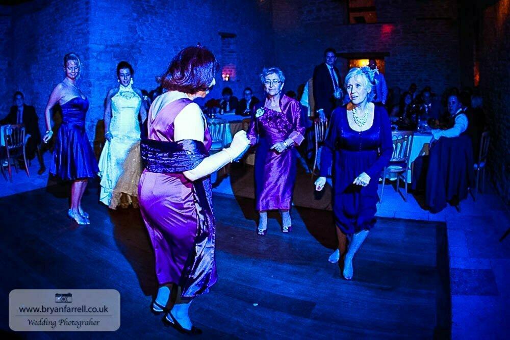 Kingscote Barn Wedding 89