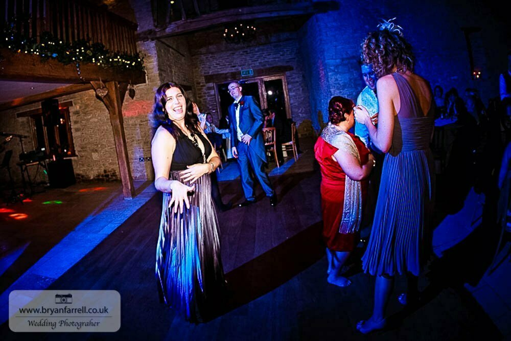 Kingscote Barn Wedding 91