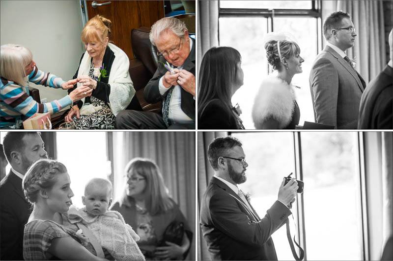 Mytton Fold Hotel Wedding Photography 55