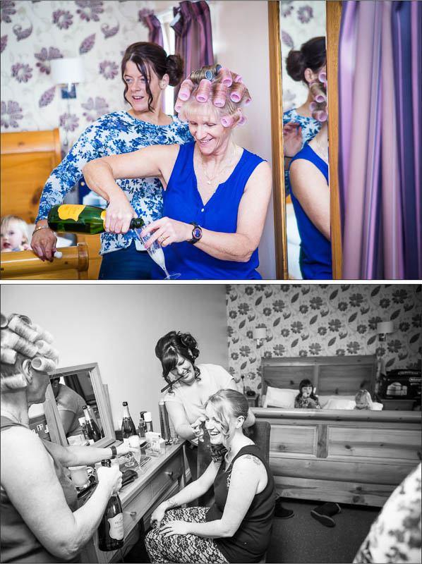 Mytton Fold Hotel Wedding Photography 7
