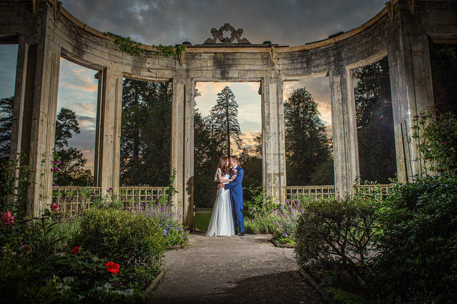 Orchardleigh House wedding.