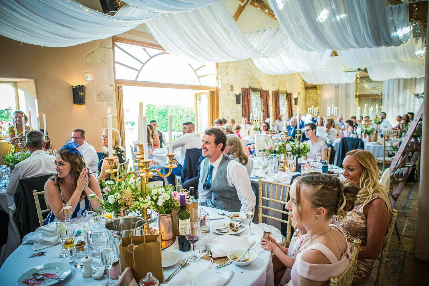 Oxleaze Barn wedding LA 115