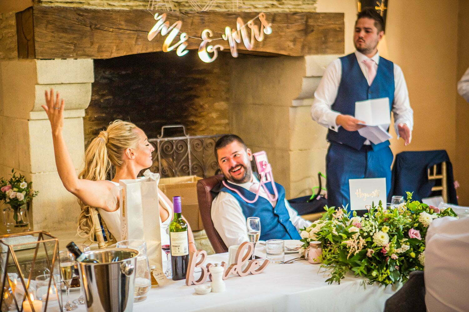 Oxleaze Barn wedding LA 117