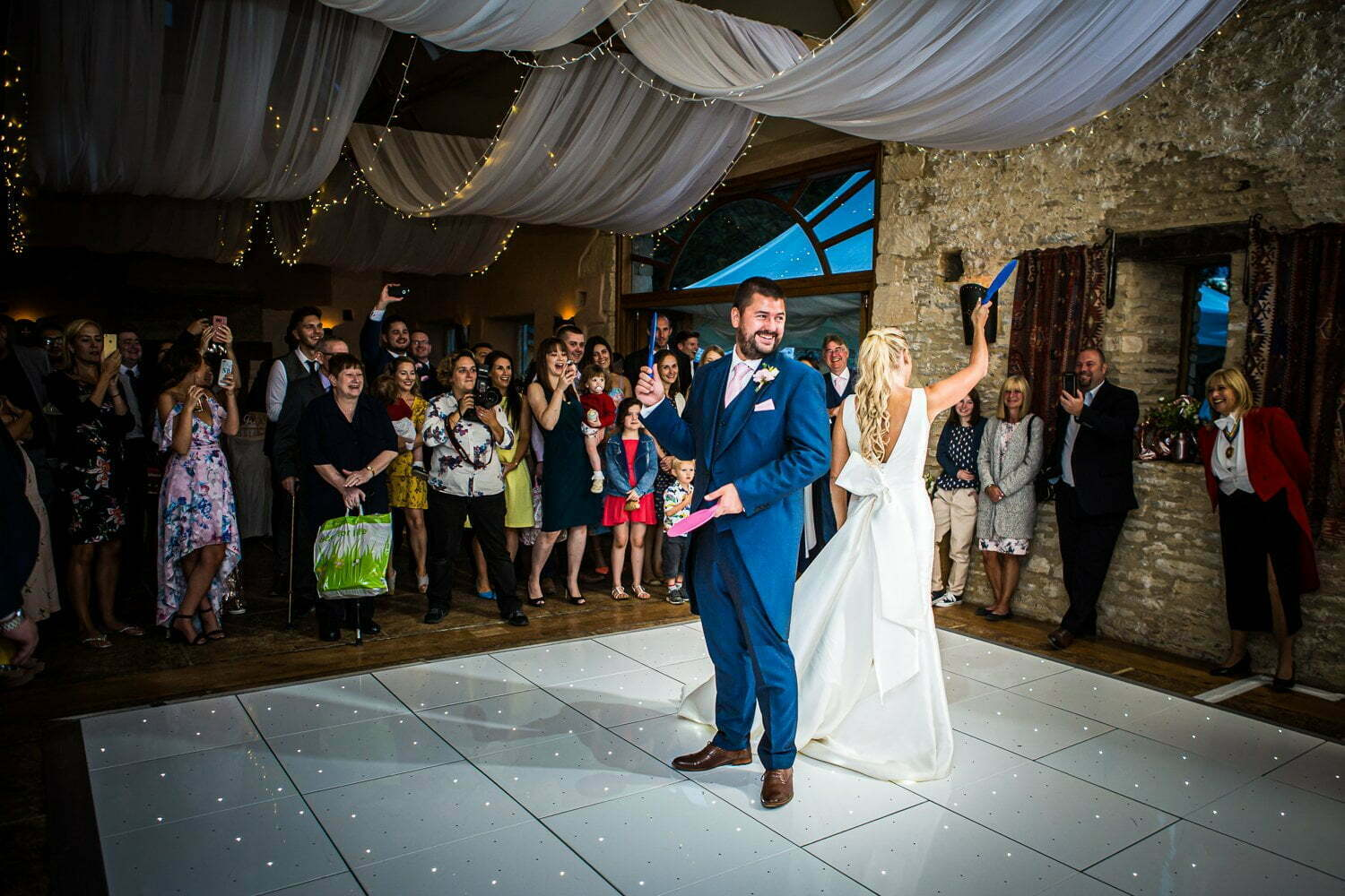 Oxleaze Barn wedding LA 135