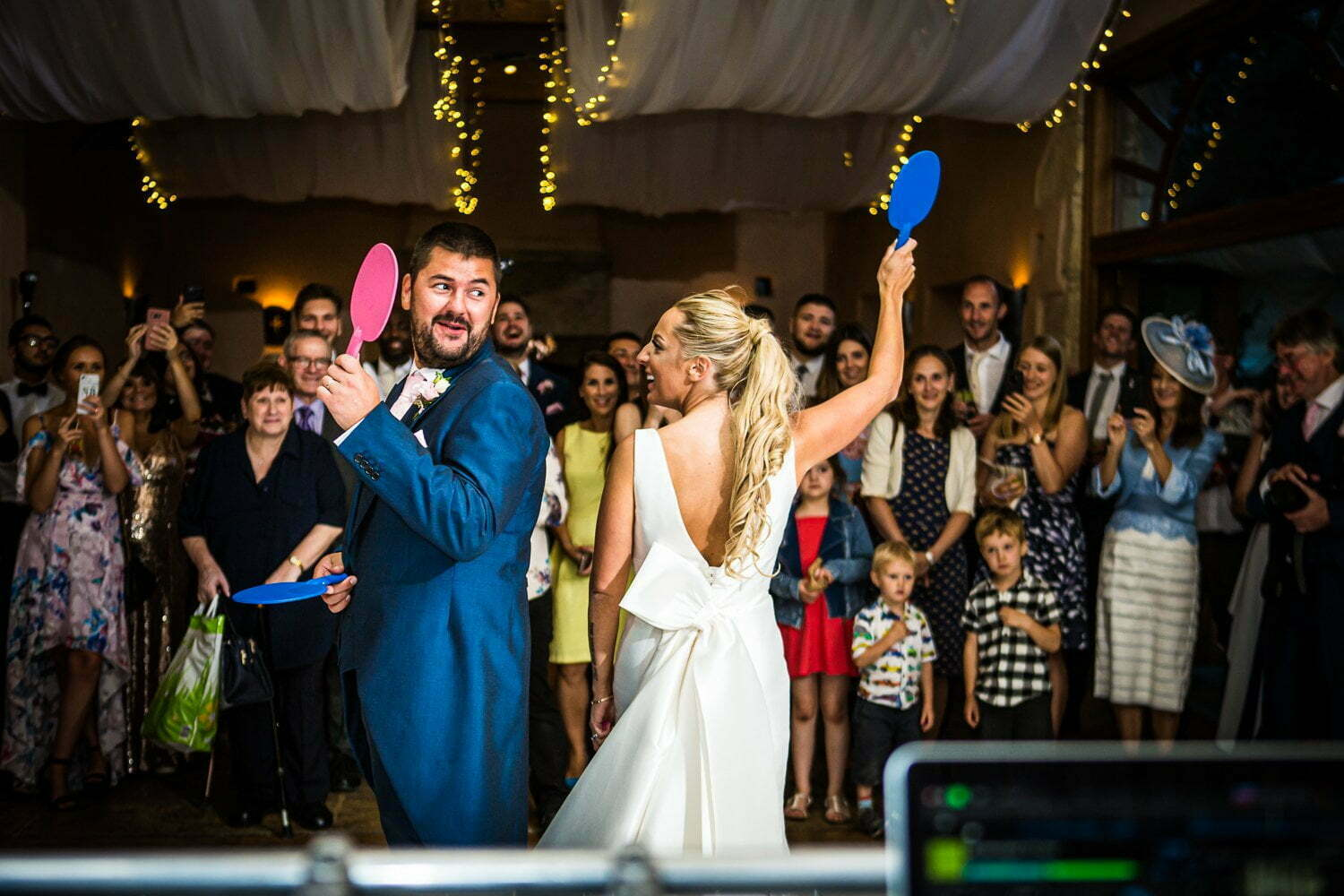 Oxleaze Barn wedding - wedding games