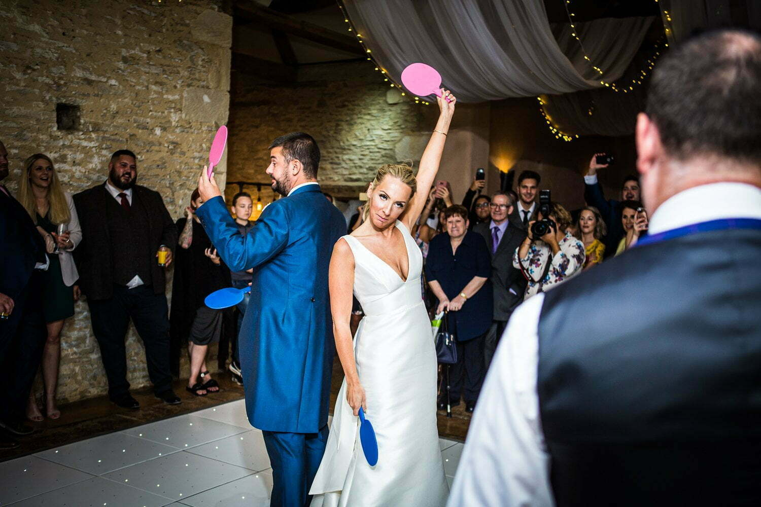Oxleaze Barn wedding LA 138