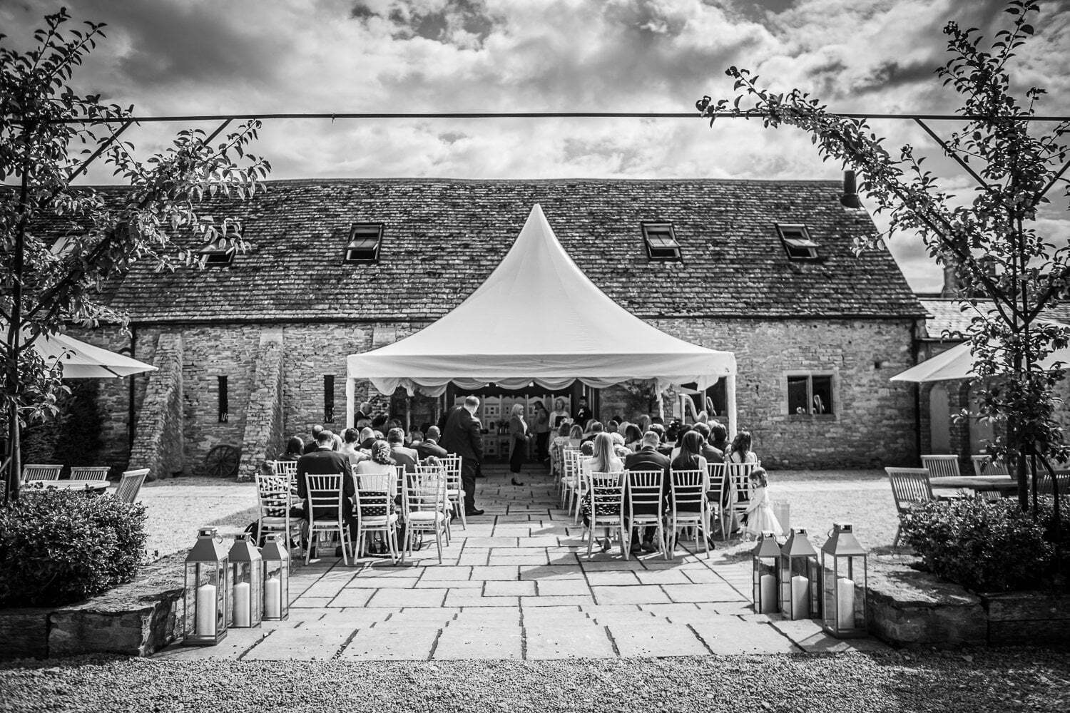Oxleaze Barn wedding LA 43