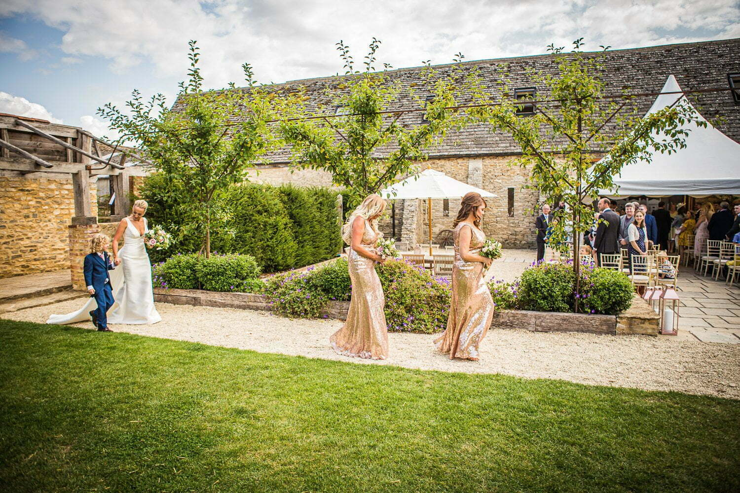 Oxleaze Barn wedding LA 46
