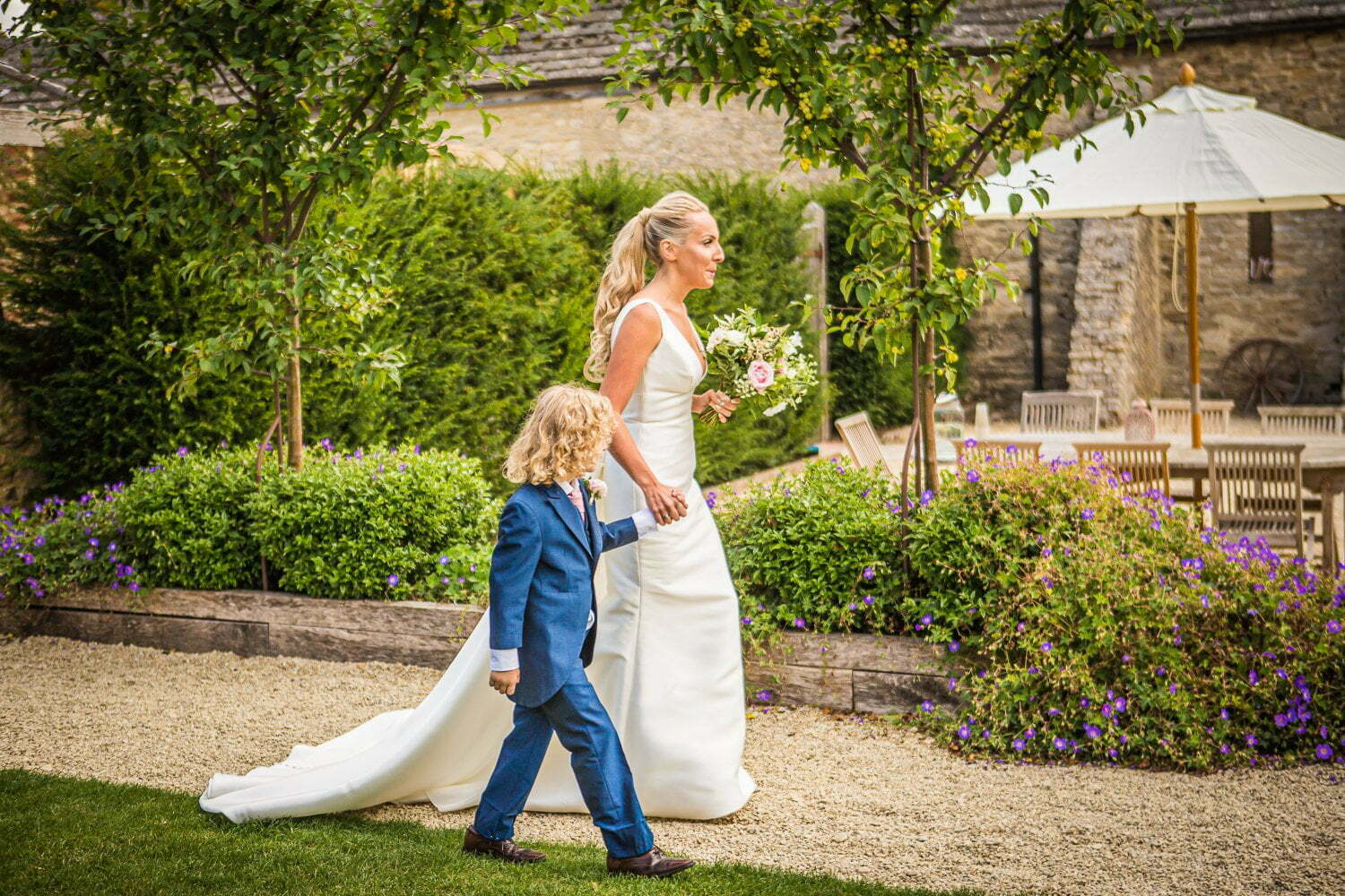 Oxleaze Barn wedding LA 47