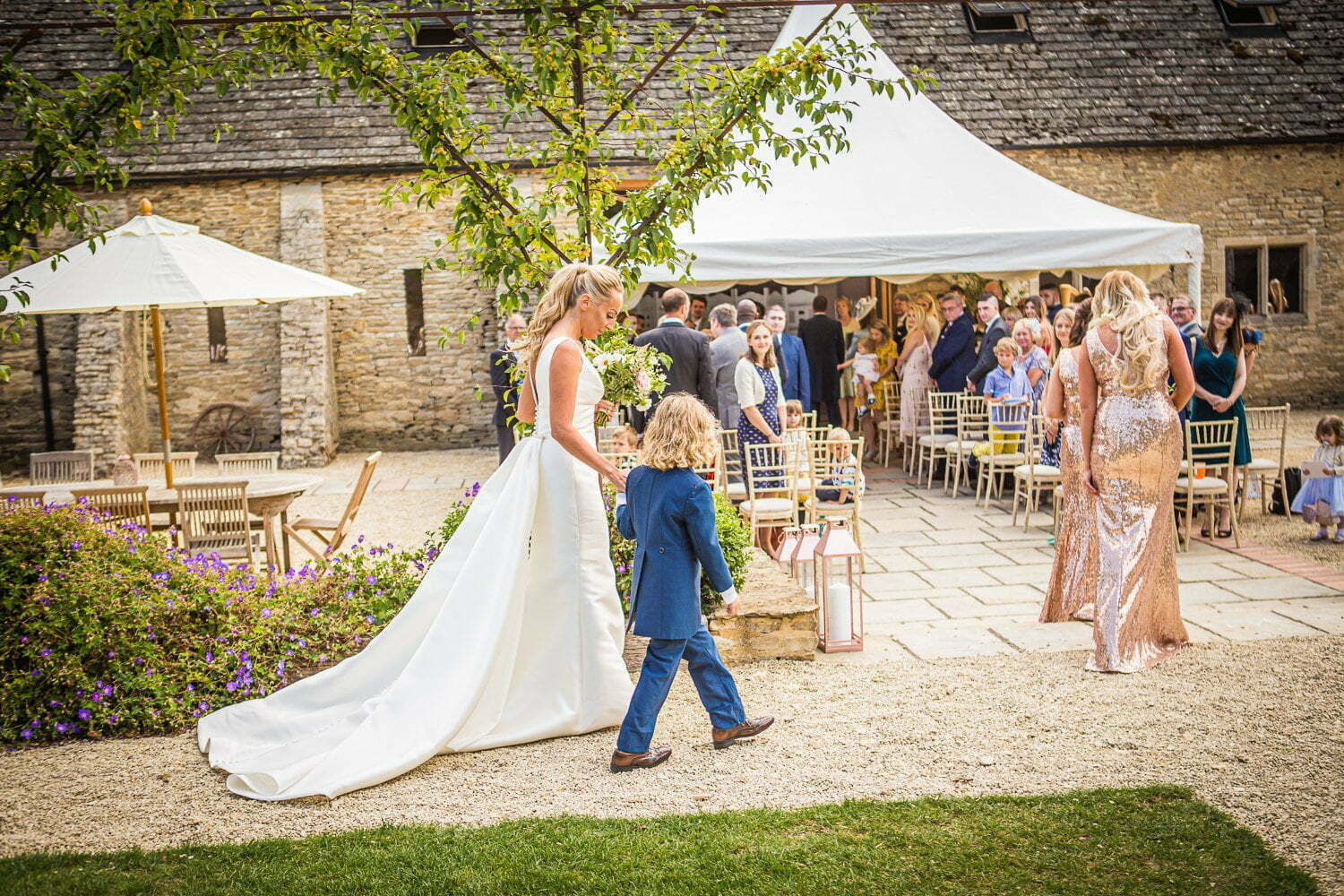 Oxleaze Barn wedding LA 48