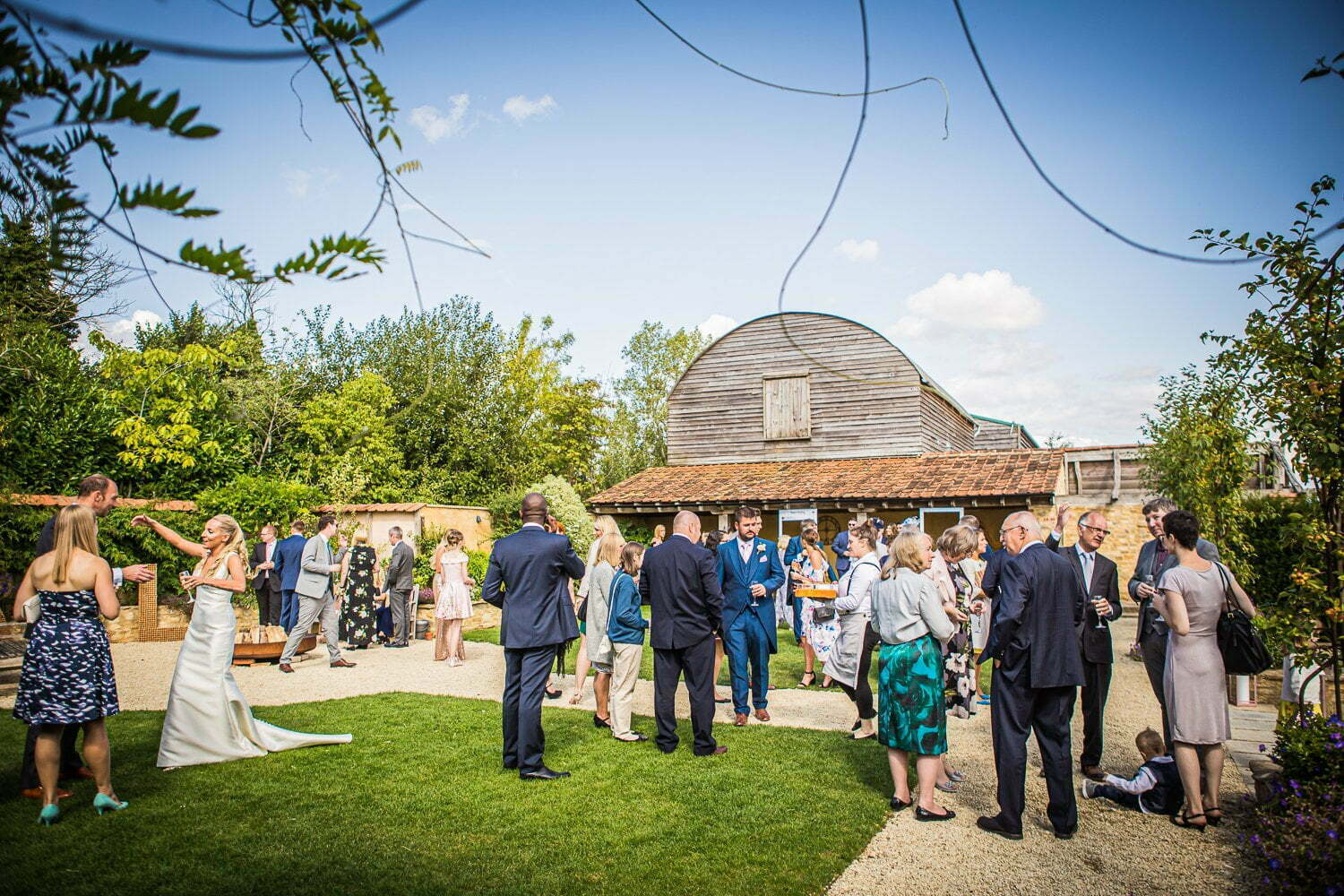 Oxleaze Barn wedding LA 62