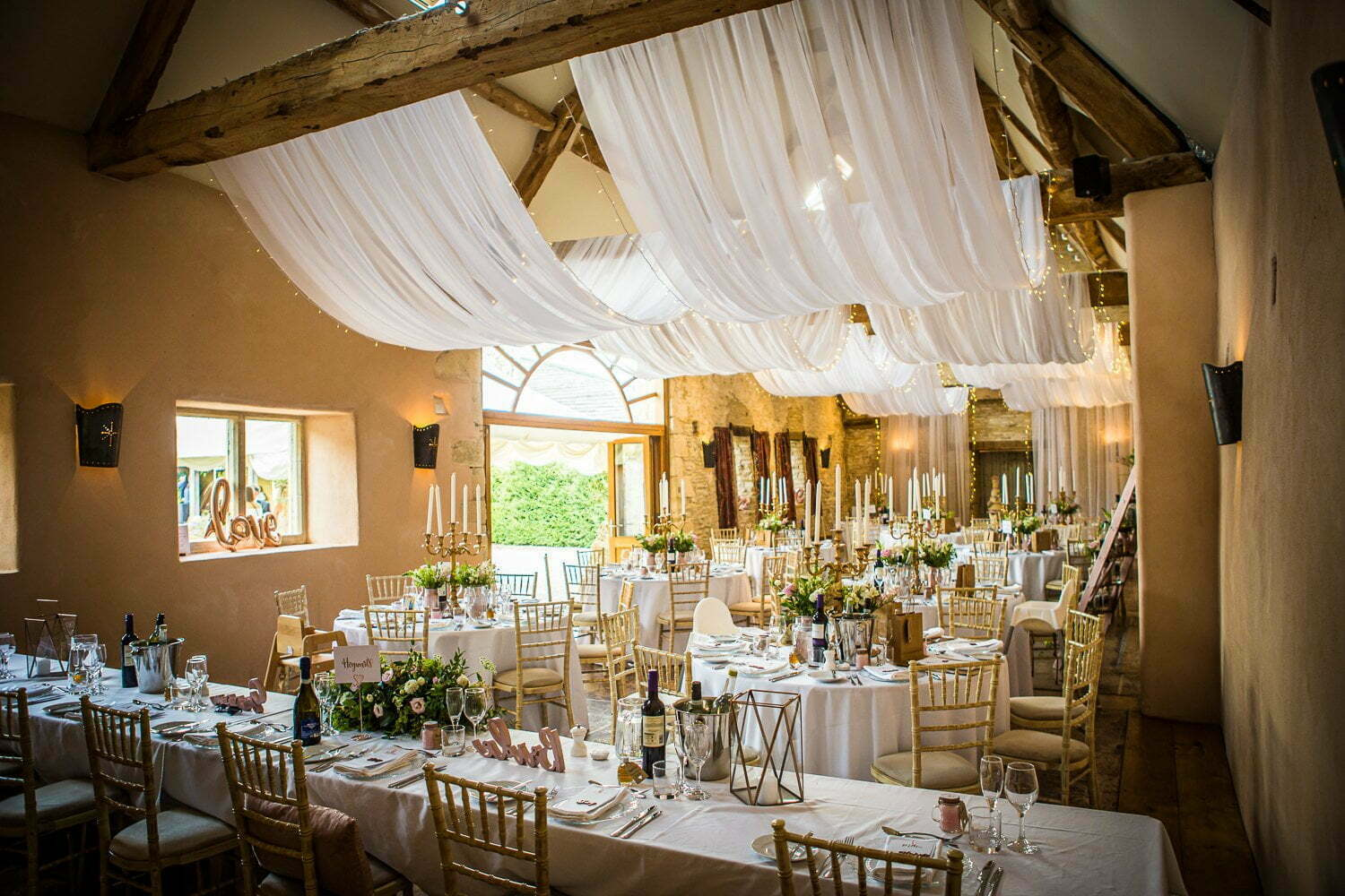 Oxleaze Barn wedding LA 69