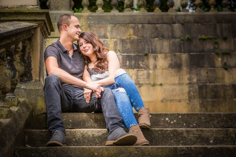 Pre-Wedding – Engagement Shoot at Avenham Park LA.