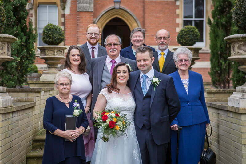 Stanbrook Abbey Wedding209