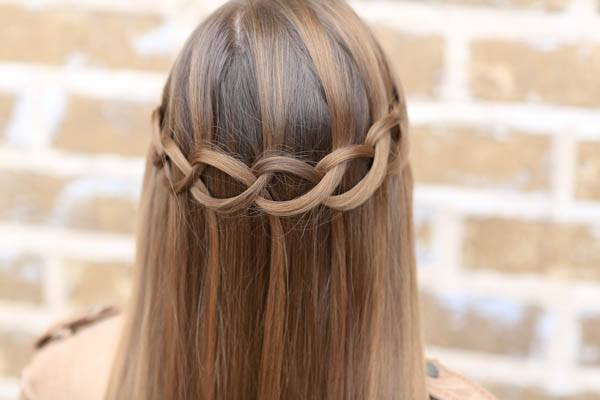 wedding hairstyles - Unique Twisted Loop