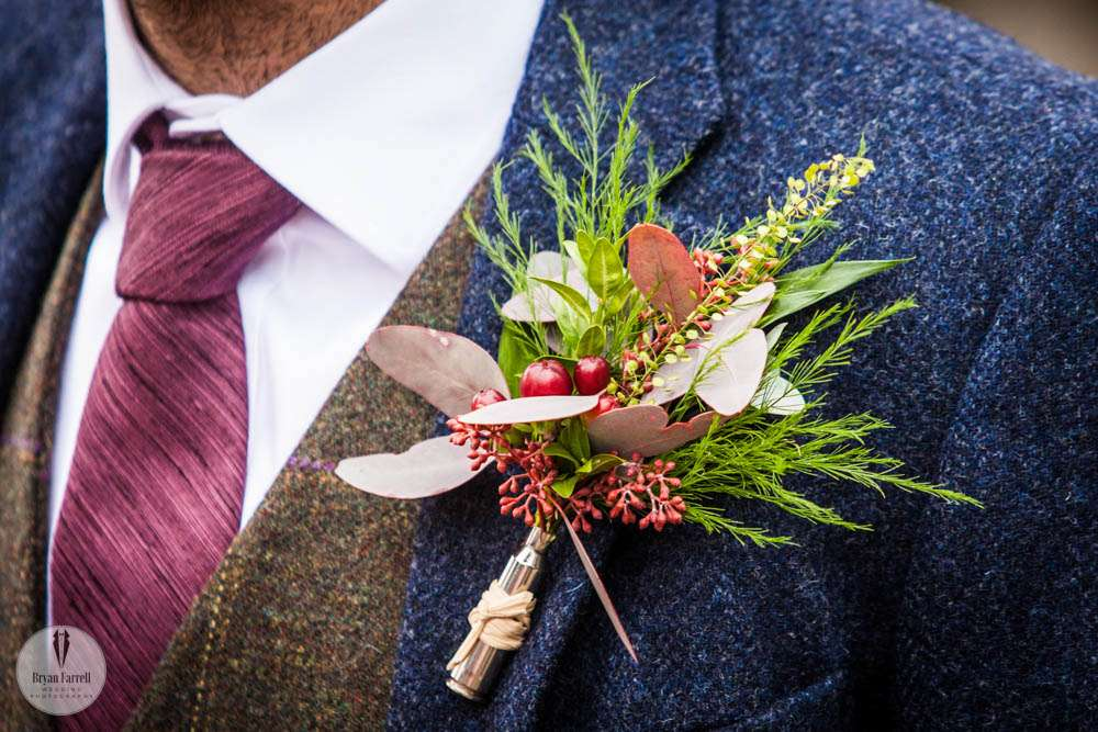 How to Attach Wedding Buttonhole & More.