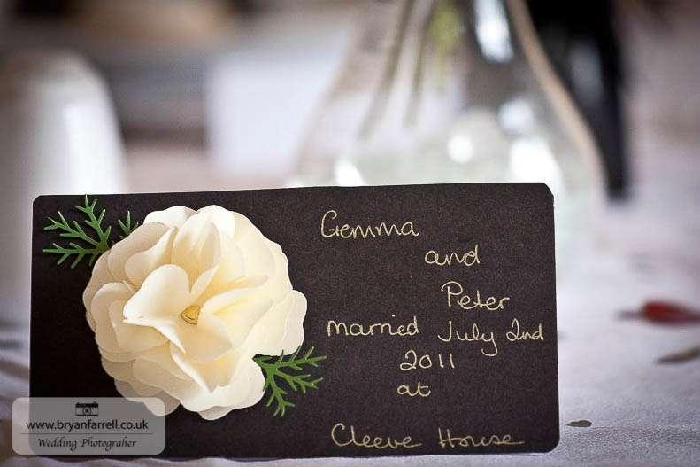 cleeve house wedding photographers 1