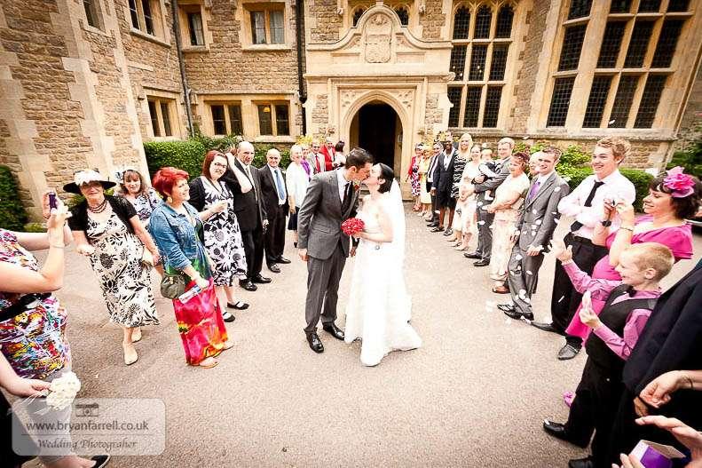 cleeve house wedding photographers 43