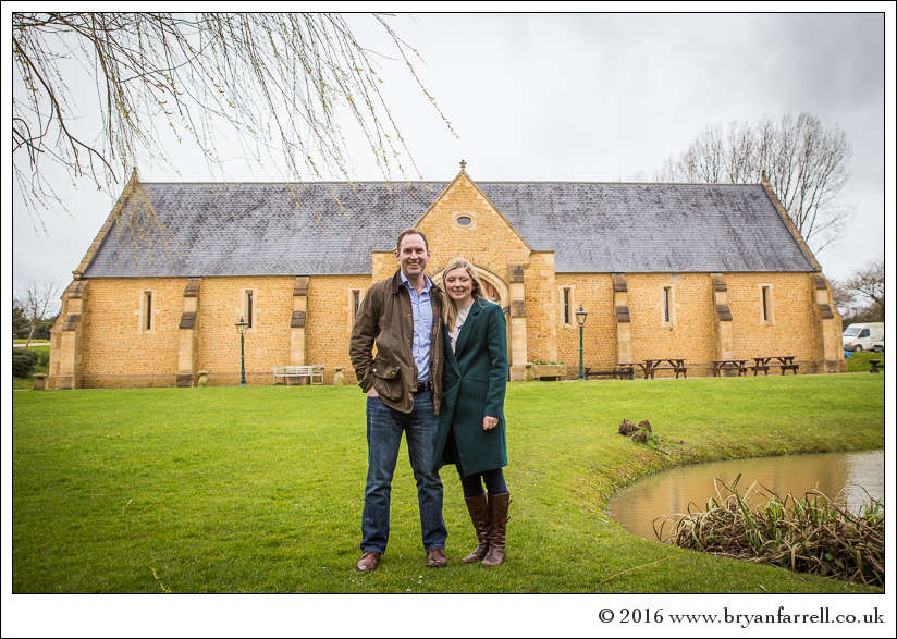 engagement photography Haselbury Mill TE 1