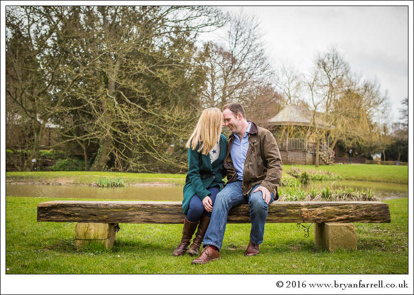 engagement photography Haselbury Mill TE 11