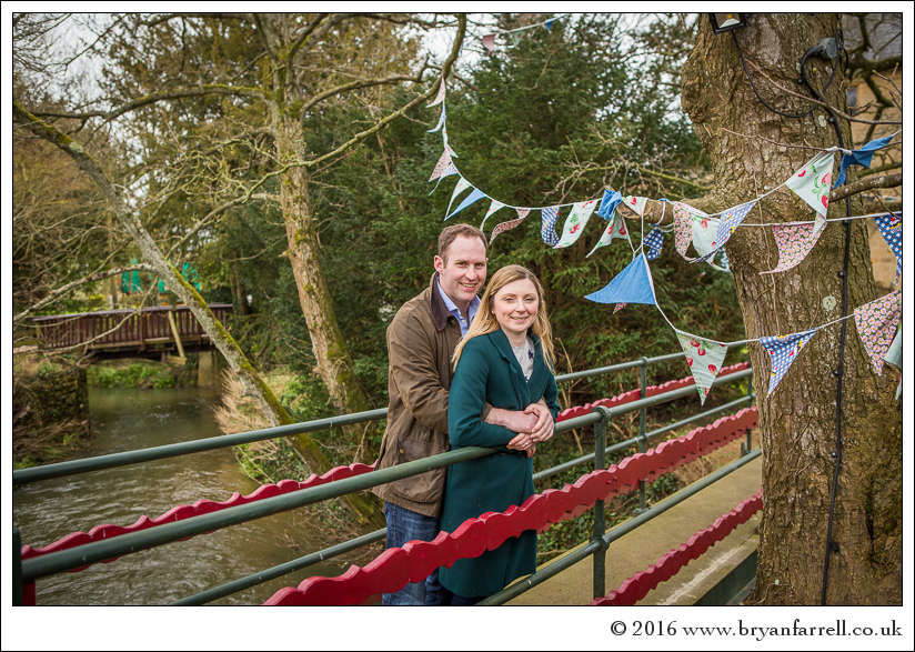 engagement photography Haselbury Mill TE 16