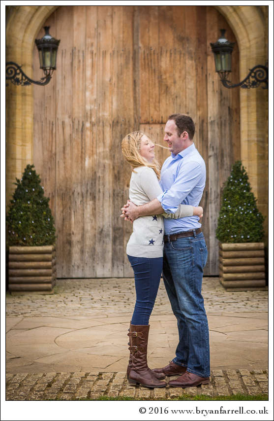 engagement photography Haselbury Mill TE 21