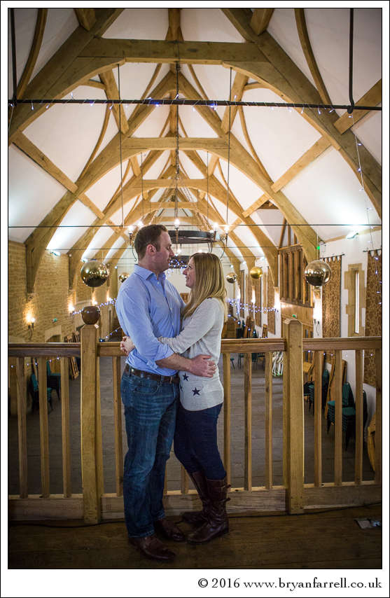 engagement photography Haselbury Mill TE 26