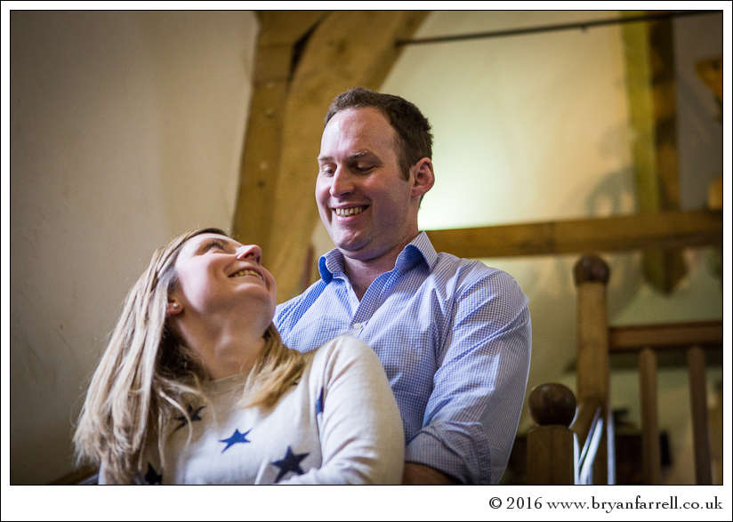 engagement photography Haselbury Mill TE 36