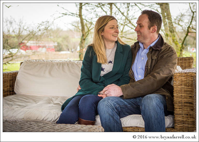 engagement photography Haselbury Mill TE 8