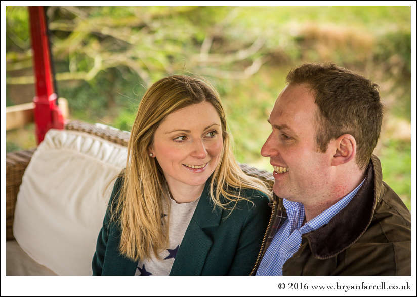engagement photography Haselbury Mill TE 9