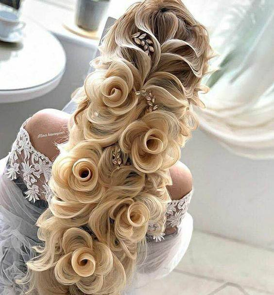 wedding hairstyles 60