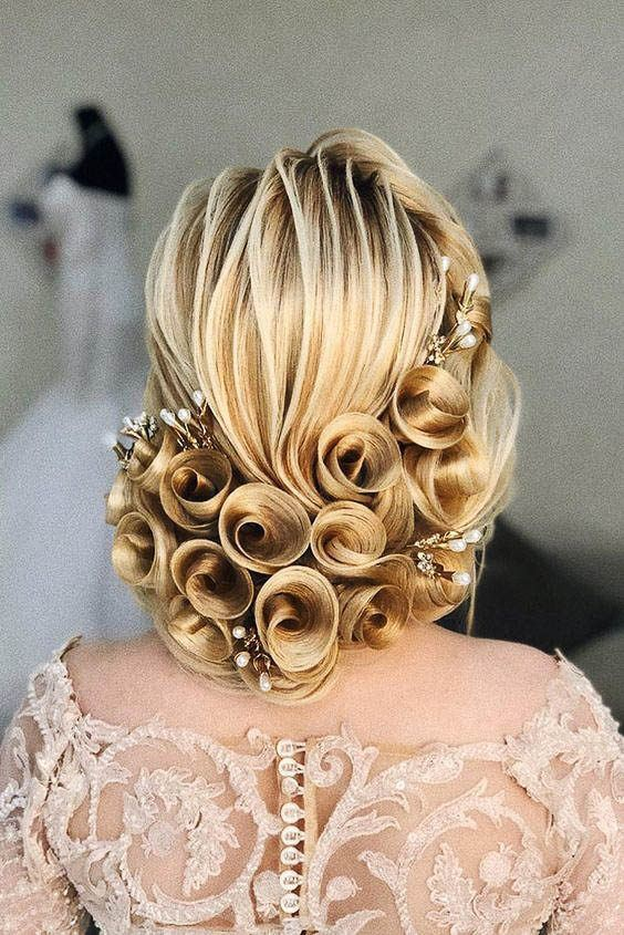 wedding hairstyles 90