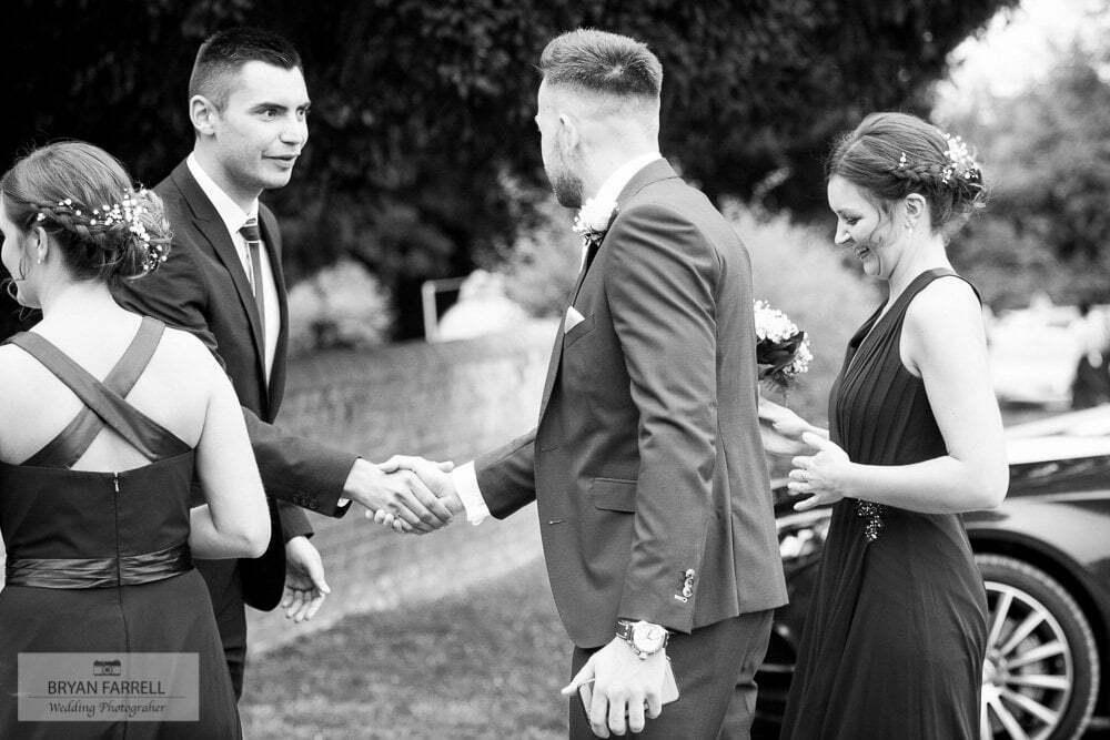 whitminster inn wedding 57