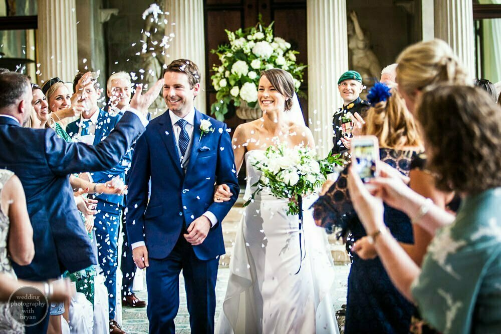 woburn abbey wedding 82