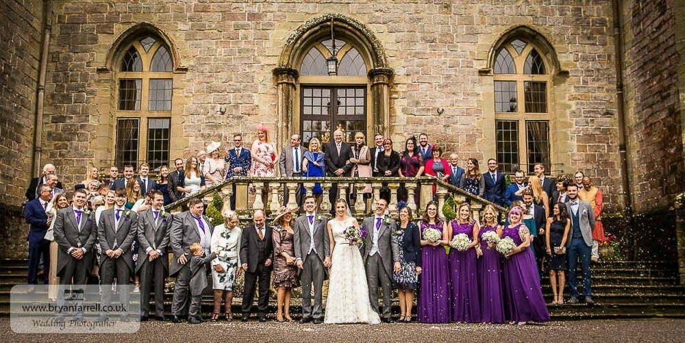 Clearwell Castle Wedding 15