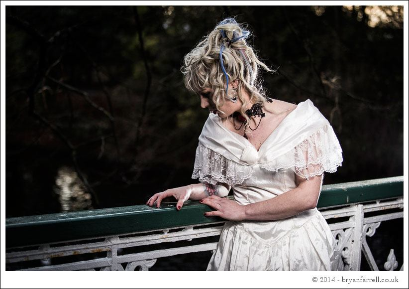 Gothic Bride Shoot 10
