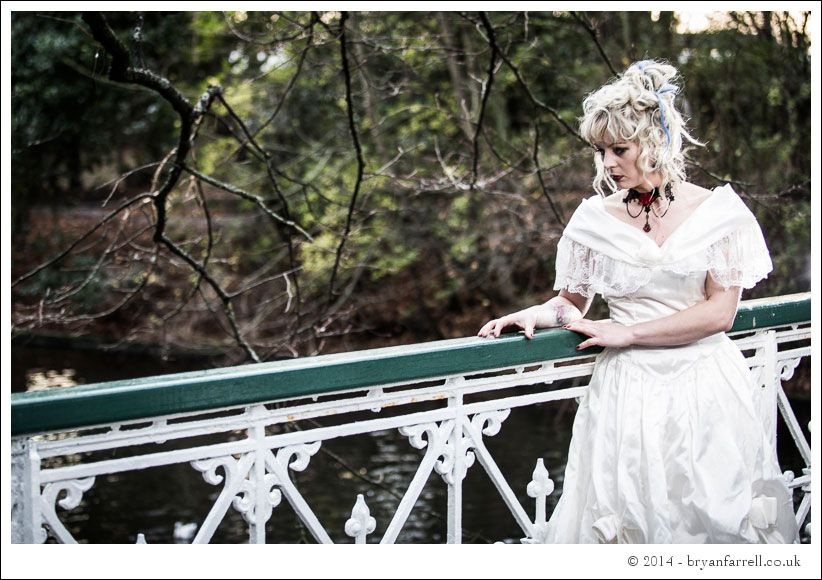 Gothic Bride Shoot 11